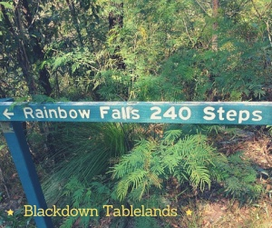 Rainbow Falls Blackdown Tablelands