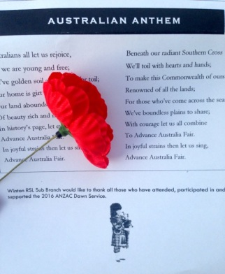 Winton Anzac Day
