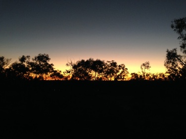 Sunrise from Atkinson's Lookout
