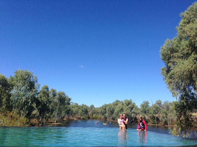 Cobbold Gorge infinity pool