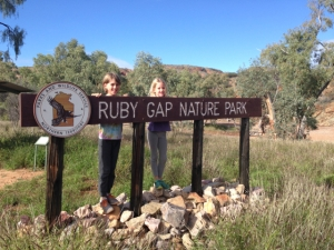 Ruby Gap is actually full of garnets
