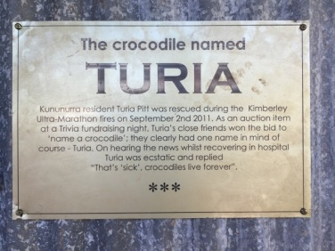 Didn't know Turia was a Kununurra local!