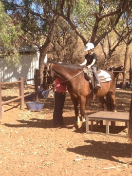 Horse riding at El Questro Station