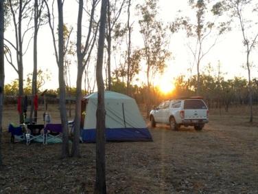 Drysdale campsite