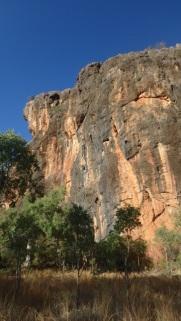 Sandstone Cliffs at Tunnel Creek